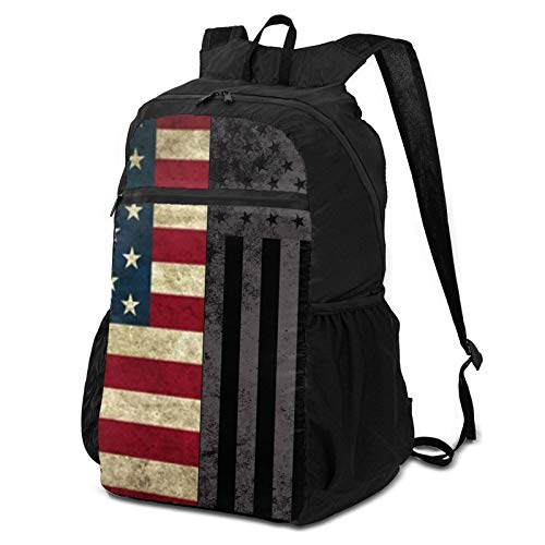 636028951008969610296409146_American-Flag-Best-Hd-Wallpaper Lightweight Hiking Travel Backpack Durable Water Repellent Packable Backpack Daypack, Handy Foldable Camping Outdoor Backpack For Women Men