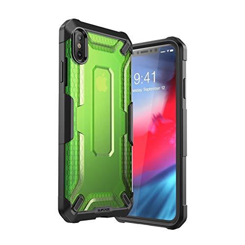 iPhoneXsMaxCase,SUPCASEUnicornBeetleSeries,CapaCapinhaProtetoraparaiPhoneXsMaxde6,5polegadas2018,PremiumHybridTPUdeproteção(Verde)