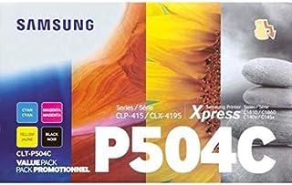 Samsung Laser Toner Cartridge for 504 (Value Pack),Use For Samsung CLP-415N /CLP-415NW Samsung CLX-4195FN / CLX-4195FW Sam...
