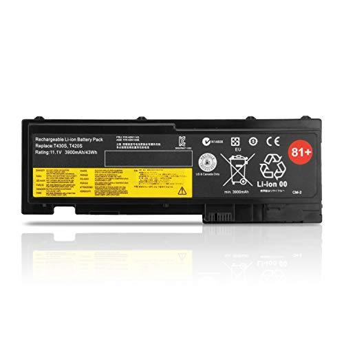 K KYUER 81+ 45N1036 45N1037 42T4844 42T4845 Laptop Battery for Lenovo ThinkPad T420S 4171 4172 4174 4175 T420SI T430S T430SI 2352 2353 2354 2355 2356 2357 2358 0A36287 0A36309 42T4846 42T4847 45N1143