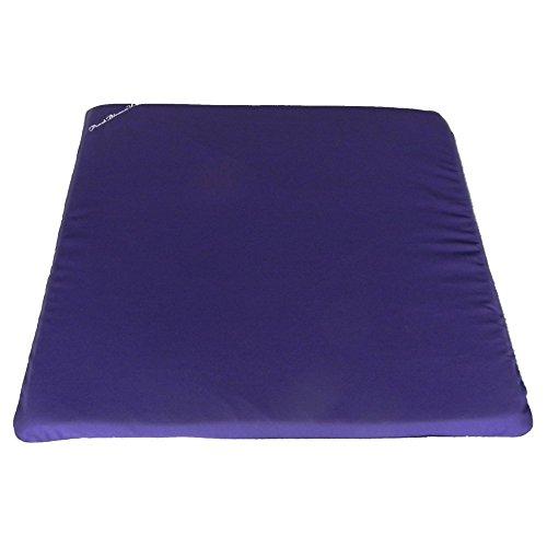 Zabuton - Cojín de meditación de 66 x 66 cm con Espuma densa de 7,6 cm para Yoga restaurativo y Comodidad