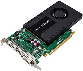HP nVIDIA Quadro K2000 - Tarjeta gráfica (2 GB, GDDR5, 700103-002, 713380-001, PCI-E #129021)