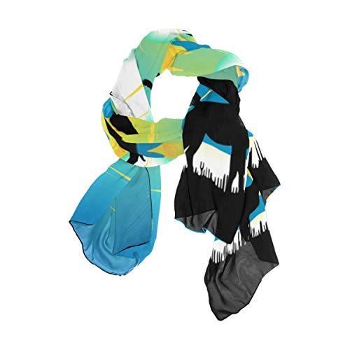 TIZORAX vrouwen sjaals wild panter lama en adelaars sjaal wraps zijde sjaal