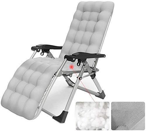 Silla de escritorio de oficina, tumbonas al aire libre, tumbonas de gravedad cero, silla reclinable de jardín, plegable, mecedora portátil, soporta 200 kg (color: estilo 3)