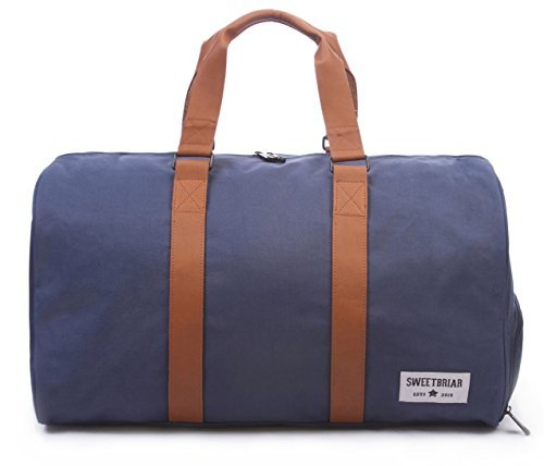 Sweetbriar Classic Duffle Bag - Weekender Duffel with Shoe Compartment
