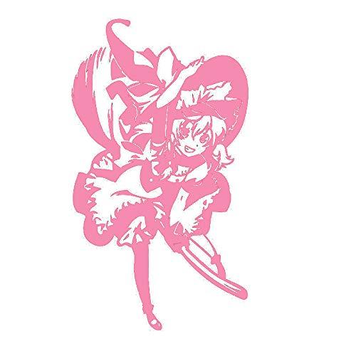 guijiumai Pegatina Touhou Projekt Aufkleber Anime Cartoon Auto Aufkleber Aufkleber Vinyl Wandaufkleber Dekor Dekoration 2 79x140 cm
