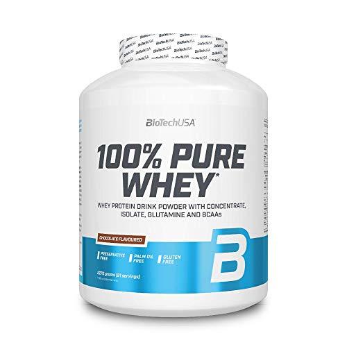 BioTech 100% Pure Whey Proteínas de Suero de Leche, Sabor Chocolate -...