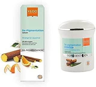 VLCC De-Pigmentation Serum, 40ml with night cream
