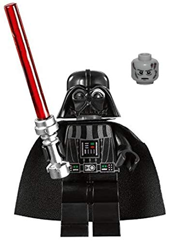 LEGO Star Wars Minifigure - Darth Vader with White Pupils (Death Star - Millennium Falcon 2010 Redesign)