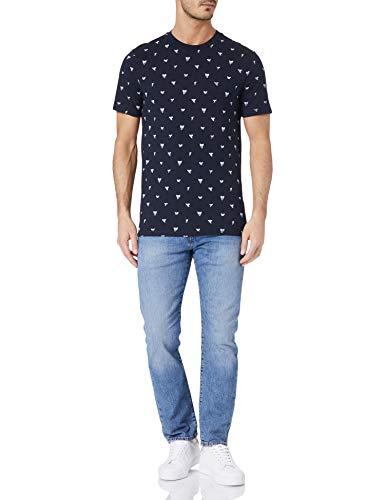 BOSS Teprint 10223696 01 Camiseta, Dark Blue404, XXL para Hombre