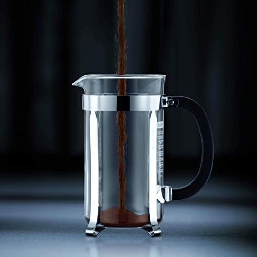BODUM Chambord 12 Cup French Press Coffee Maker, Chrome, 1.5 l, 51 oz