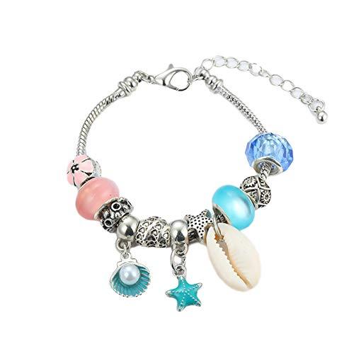 Fantásticos kits de fabricación de joyas para Navidad, pulseras pop para la fabricación de collar, pulsera, anillo, artesanía y fabricación de joyas, kit para niñas, calendario de cuenta atrás, joyas