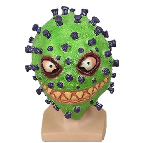 Máscara de Halloween Terrible Mal de látex Completo másca