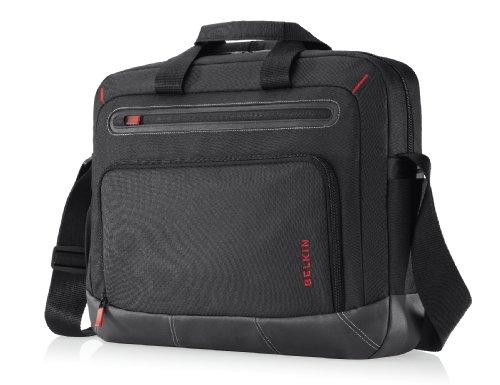 Belkin Notebook Tasche (geeignet für Notebooks bis 16Zoll (40,6cm)) rot/schwarz