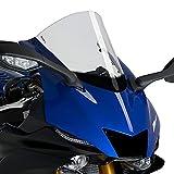 Racingscheibe R-Racer für Yamaha YZF-R6 17-19 rauchgrau Puig 3633h