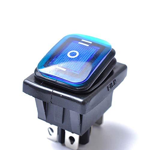 Hopowa Interruptor basculante 12 V, Interruptor de 6 Pines, Interruptor basculante de Encendido-Apagado-Encendido de 3 Posiciones para los Accesorios del Coche del Interruptor de Palanca de luz LED