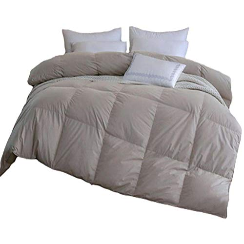 ZHKGANG Cotton Duvet, White Goose Down, Winter Duvet, Thickened Quilt, Hotel Quilt, 100% Soft And Silky Microfiber Feel, Like Duvet Quilt,A1.5 * 2M-2.5KG