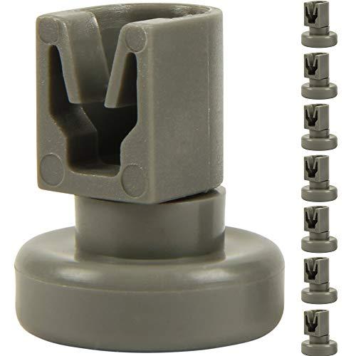McFilter Oberkorb-Rollen für Geschirrspüler (8 Stück), Korbrollen für Spülmaschine geeignet für von AEG Favorit, Privileg, Zanussi, uvm.