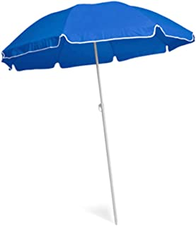 Dia 140cm Blue colour Beach Umbrella, 170T material
