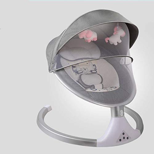 ZWQ kids Chaise électrique à Bascule, Berceau de bébé Nouveau-né Shaker, Chaise Confort de Sommeil, endormi 0-12 Mois bébé r,B