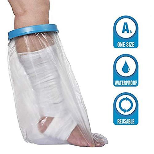 Waterdicht Cast & Dressing dekking voor volwassenen, been in het gips Cover voor herbruikbare douche bescherming van verbanden en pleisters, bescherming tijdens een douche en bad