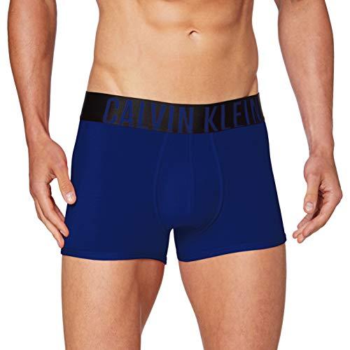 Calvin Klein Trunk Bóxer, Azul (Sharp Blue Sb6), Small para Hombre