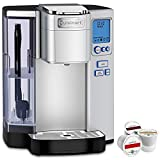 Cuisinart Premium Single Serve Coffeemaker (SS-10) with Bonus K-Cup Sample Pack