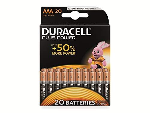 Plus Power Alkaline Micro (AAA) Batterien - 20 Stück