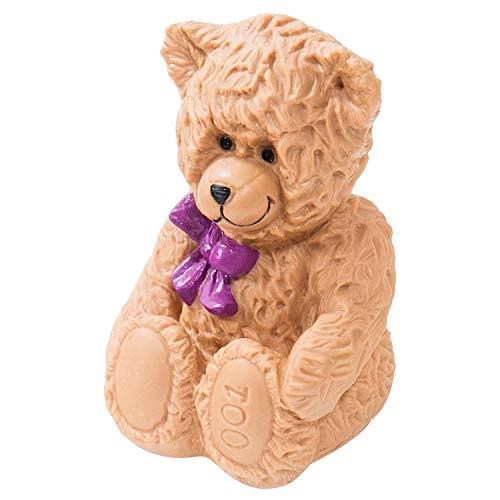 HMF 48918 Spardose Teddybär mit Schlüssel | Sparbüchse | 11,5 x 17 x 11,5 cm