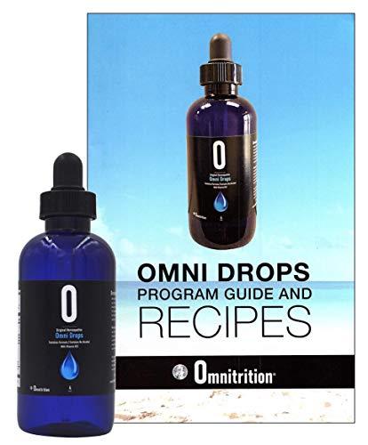 Original Omnitrition Homeopathic Omni Drops with Vitamin B12-4 oz, and Program Guide