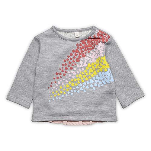 ESPRIT KIDS ESPRIT KIDS Baby-Mädchen Sweatshirt, Silber (Heather Silver 223), (Herstellergröße: 80)