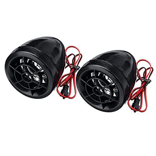 YHMY2020 Altavoz portátil Bluetooth De Sonido de Alarma Anti- Robo de Motocicleta Bluetooth MP3 FM Player de Radio Altavoces estéreo Amplificador de música + Control Remoto para casa