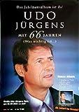 Mit 66 Jahren (Was wichtig ist) Poster A1 - Udo Jürgens