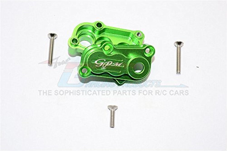 Axial SCX10 II Upgrade Parts (AX90046) Aluminum Transfer Case - 2Pcs Set Green