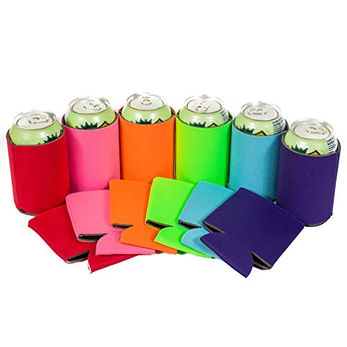 QualityPerfection Blank Can Cooler Sleeves ,Beer,Soda,Drink Coolies Sleeves |...