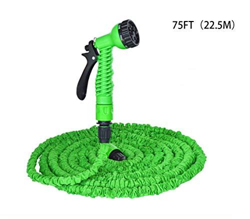 25FT-150FT (7.5M ~ 45M) Tuinslang Uitbreidbaar Magisch Flexibele Waterslang Slang Plastic Slangen Pijp Met Spuitpistool Voor Watering Car Wash,75FT