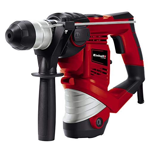 Einhell Marteau Perforateur TC-RH 900 (900 W, Mandrin SDS‐Plus, Perçage, Percussion, Burinage, Arrêt de...