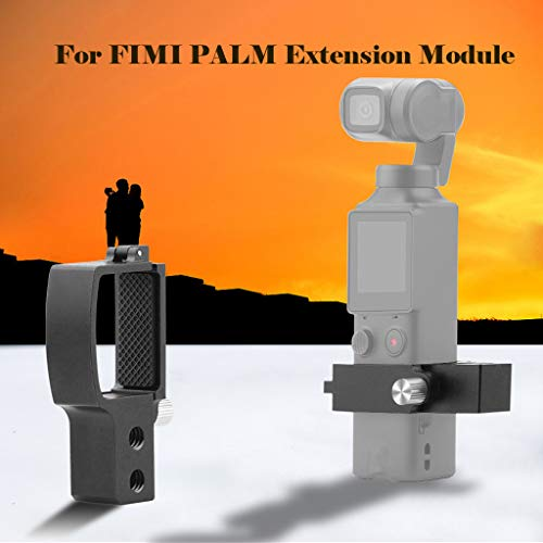 for FIMI Palm zubehör,Smart Motion Kamera Handheld Gimbal Expansion Kopfbefestigung Extension Module FIMI Palm Handheld Gimbal Kamerahalterung for FIMI Palm