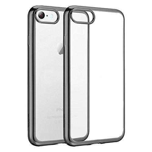 E.F.Connection® Schutzhülle für iPhone 6S Plus & 6 Plus (5,5 Zoll), Schutzhülle, Silikon, TPU, Kristall, stoßfest