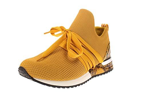 La Strada 1804297 Sneaker Knitted Ocher 39