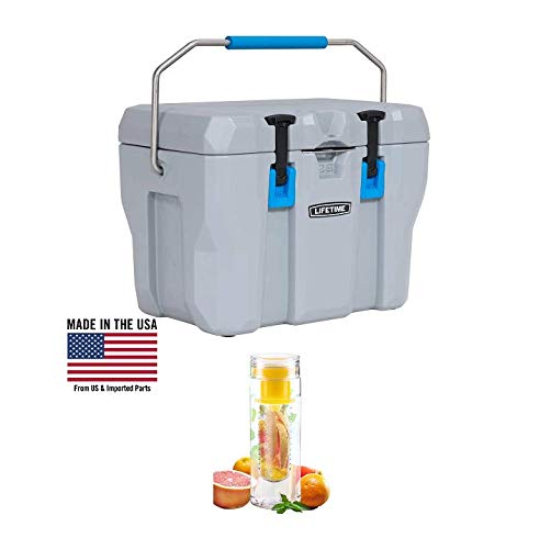 Lifetime High Performance Cooler with Water Bottle (28-Quart)