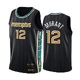 Memphis Grizzlies No.12 Ja Morant Jersey, Grizzlies Baloncesto Masculino Jerseys,Whole Team 2021 New Season Player Breathable Sports Jersey A-M