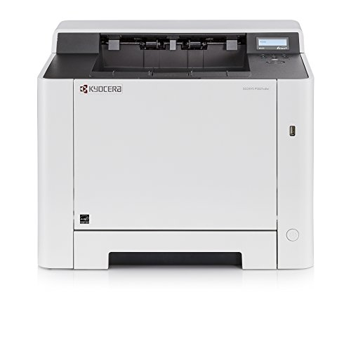 Kyocera Ecosys P5021cdw Colour and Black/White Duplex Laser Printer. Up to 21 Pages per Minute. Mobile Print Support