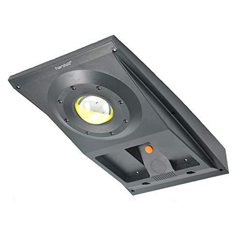 Hardoll Solar Light For Home Garden 10W COB Motion Sensor Street Lamp (Black)