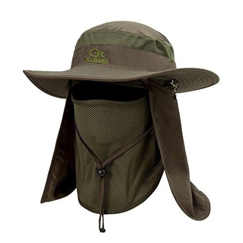 Outdoor Wide Brim Cap with Flap