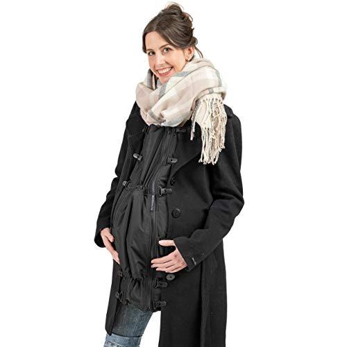 Jackenerweiterung | mach Deine Jacke zur Umstandsjacke oder Tragejacke | für Jede Jacke & Konfektionsgröße | für Schwangerschaft & Baby-Tragezeit | Allwetter Jackeneinsatz