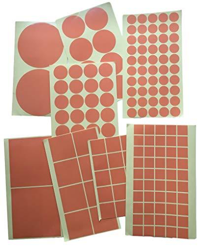 Kleefoppervlakken dubbelzijdig - Extra sterk klevend/sticky tape vierkanten & cirkels - 0,2 mm acryl lijm - dun en transparant - 20mm 30mm 50mm 100mm - grootte/hoeveelheid naar keuze 32Stück 50x50mm