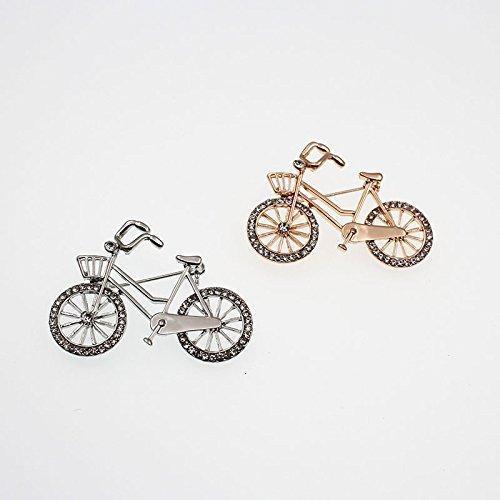 nikgic 1 pc pines para bicicleta creativa nueva broche pañuelo ...