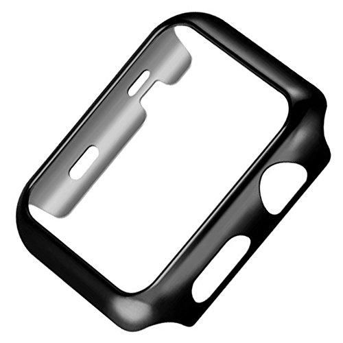 Riyeri Apple Watch 44mm Series 4 Hülle, Slim PC Schutzhülle für iWatch 40mm Series 4 (44mm, Black)