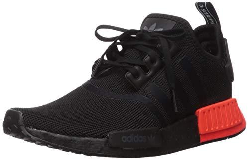 Zapatillas Adidas Originals NMD_R1 unisex para niños, Negro (negro, rojo, (Black/Black/Solar Red)), 38 EU